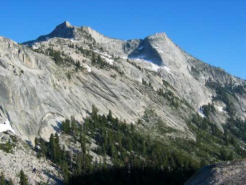 Tresidder Peak (L) & Tenaya...