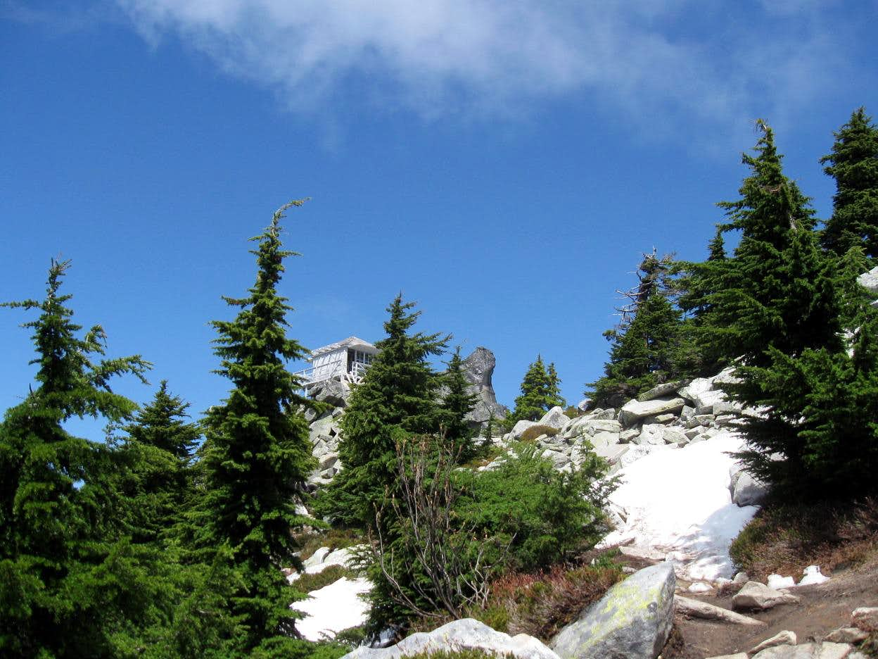 Mt. Pilchuck, the only one in Washington