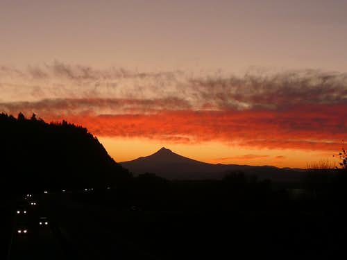 Mount Hood;  Heaven\'s On Fire