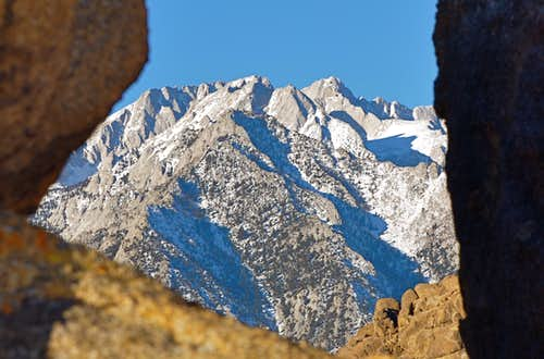Mount Russell seen from Alabama Hills