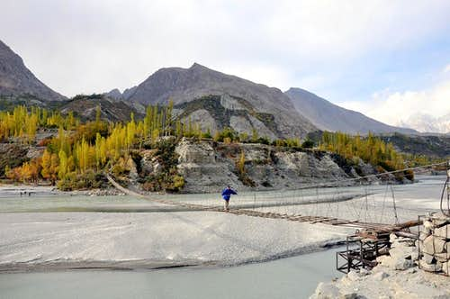 Hunza River near Gulmit