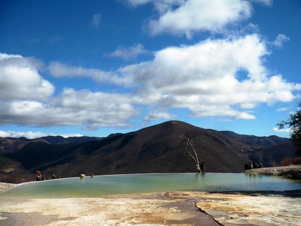 'Ojo de Agua', one of the pools
