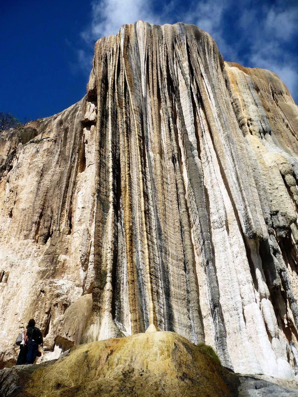 The big 'petrified waterfall'