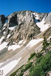 North Ridge from the East