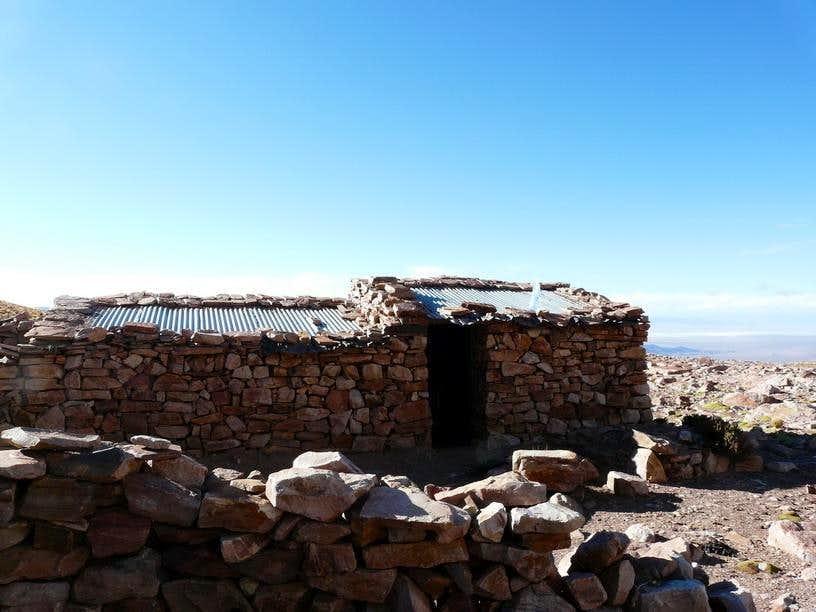 The Shelter at Jefatura del Diablo