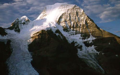 North Face of Mt. Robson