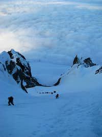 Mount Hood Climbing Queue