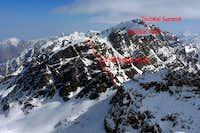 Toubkal WSW (Ouanoums) Ridge