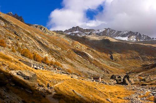 Hotel Almageller Alp in October