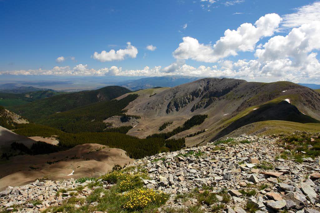 Latir Peaks from Venado Peak