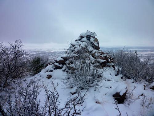 Summit Cairn and Cañon City