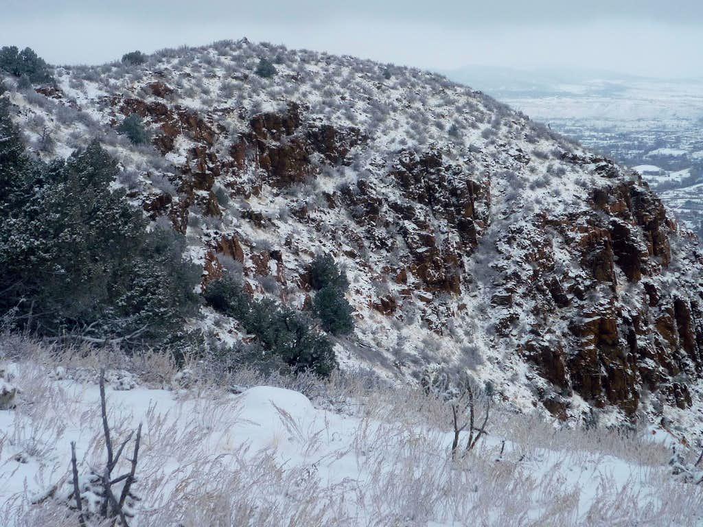Summit from the ridge