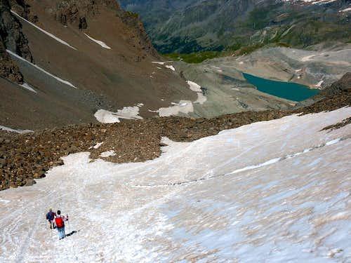 Bassac Derè Pass from Valgrisenche (3082m)