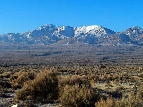 Grassy Mtn (UT) hike to start 2009
