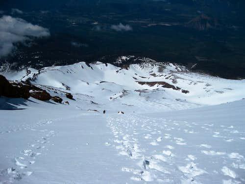 The Saddle - Mt Shasta