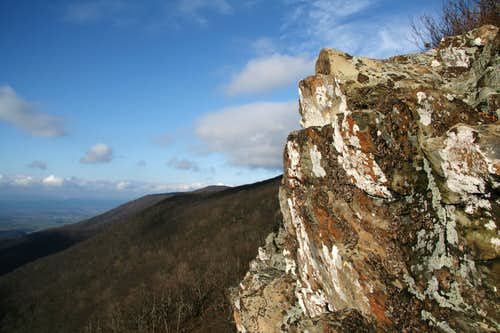 View North from the Crags