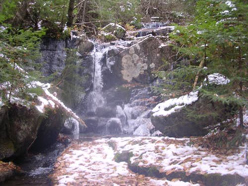 Waterfalls on Allen