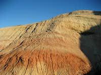 Badlands ground on Peak 4490