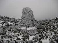 Mt.Jefferson AT rock cairn