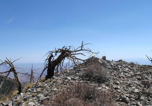 The summit of Mt. Hillers