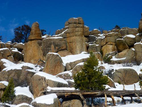 Midland Hill in Snow Season