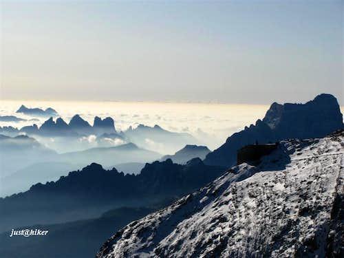 View on Tofana di Mezzo (3.244m)