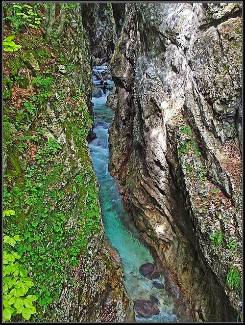 Moznica / Nemclja gorge