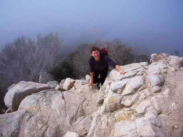 West Ridge, Strawberry Peak