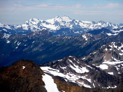 Mt Olympus from Mt Constance summit