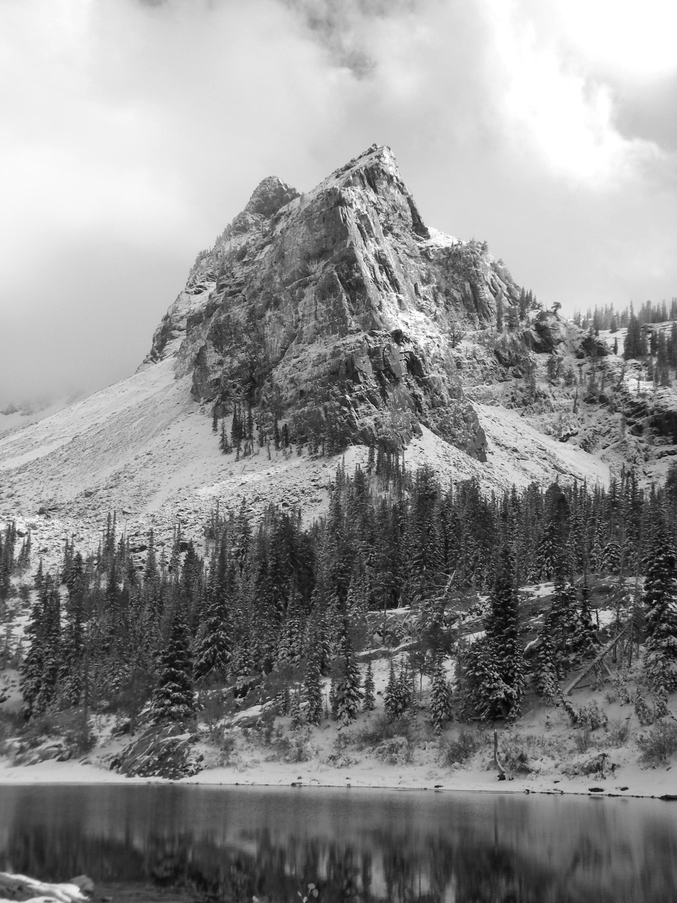 The Wasatch in Black and White