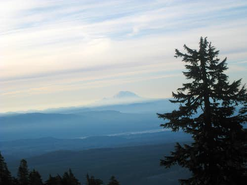 Mt. Rainier from Mt. Pilchuck