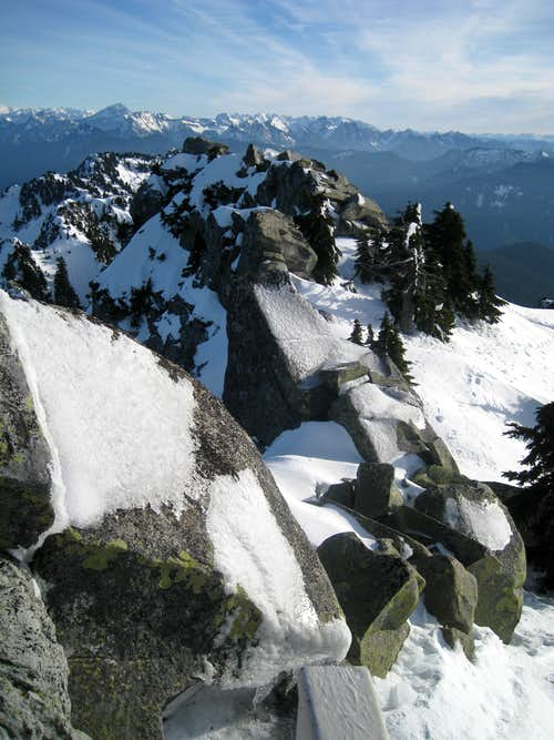 View from Mt. Pilchuck Summit