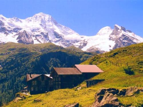 The Breithorn. The photo was...