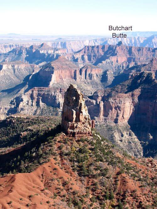 Butchart Butte