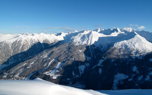 View to the Ankogel Group from the Stubnerkogel