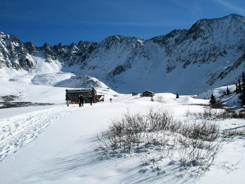 Boston Mine Cabins and Drift Peak