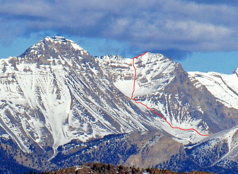 Donaldson Peak Standard Route