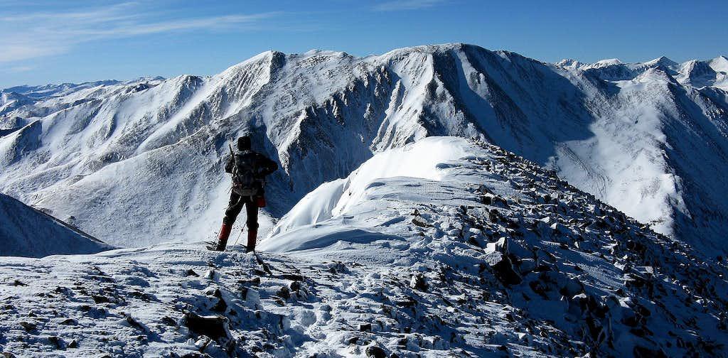 Mt Guyot summit views