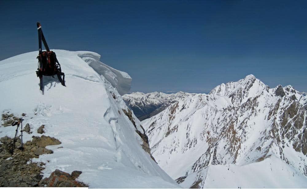 Mt. Borah from the summit of Idaho
