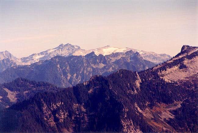 Mt. Daniel & Mt. Hinman from...