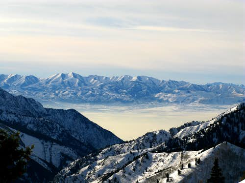 Inversion in Salt Lake Valley