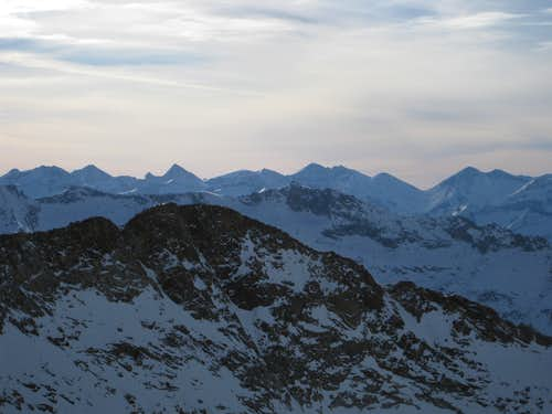 Alta Peak from summit