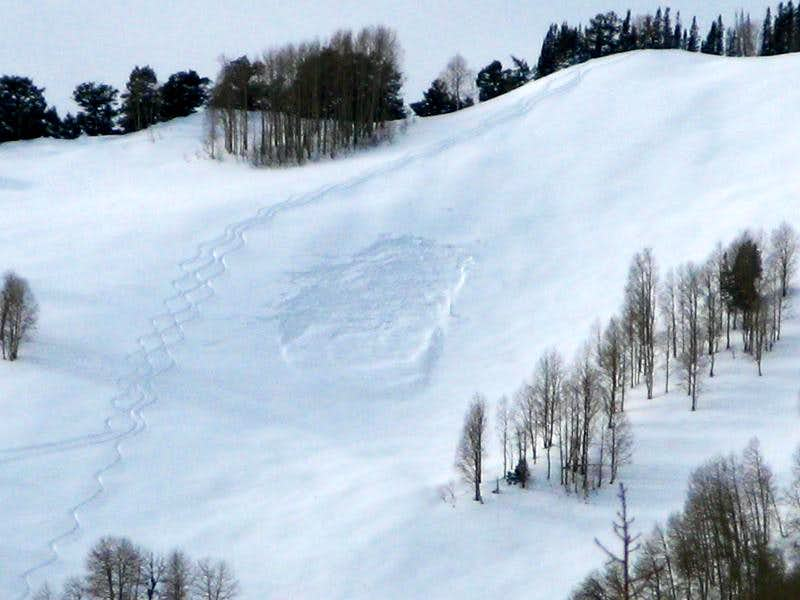 Utah Avalanche Conditions Photos 2009-2010