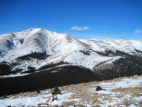 Silverheels, Hoosier Ridge and Red Peak
