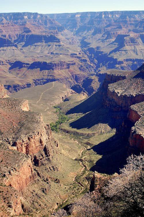Corridor of Grand Canyon
