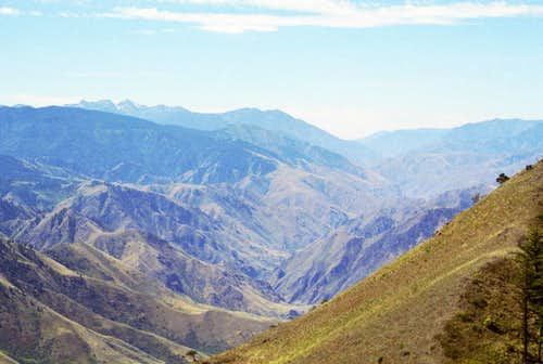 Hells Canyon from Wild Horse