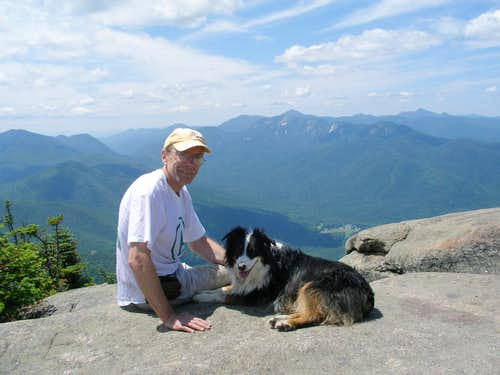 A Cautionary Tale of Hiking with Your Older Dog - Rocky Peak Ridge Traverse