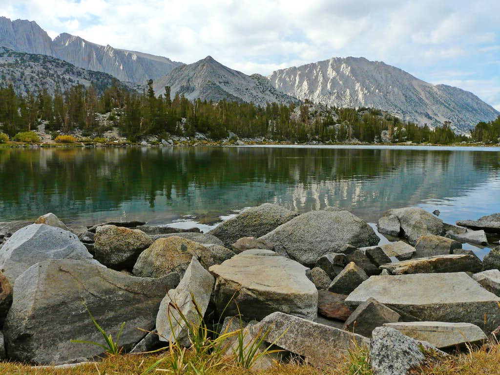 Mt. Starr from Chickenfoot Lake