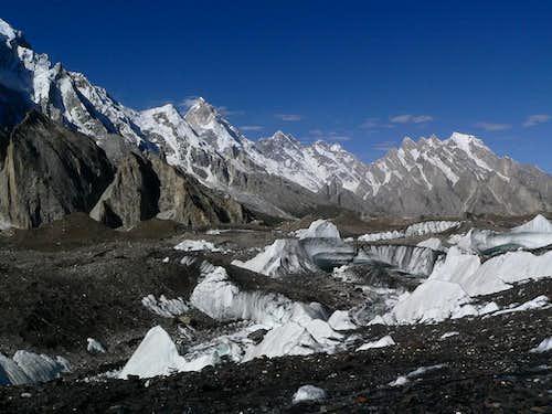 Masherbum as seen from Baltoro Glacier, Karakoram, Pakistan