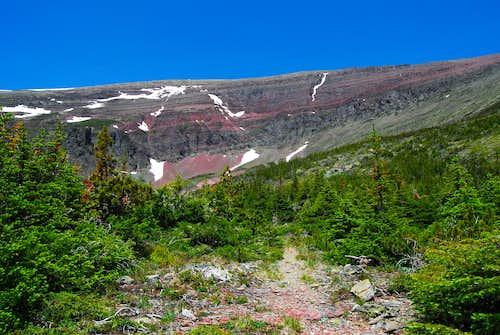 Apikuni's southern slopes